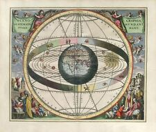 """Beautiful Ancient Map of the Universe and Zodiac CANVAS ART PRINT 24""""X18"""" #3"""