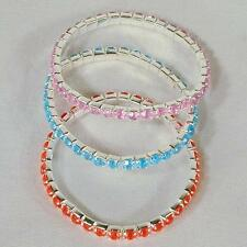 12 CRYSTAL STRETCH JEWEL BRACELETS womens new fashion jewelry bracelet wholesale
