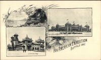 1901 Buffalo NY Pan-American Expo Multi View Private Mailing Card #6 jrf