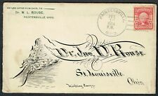 More details for usa 1904 paintersville-st.louisville hand drawn butterfly fine family letter vfu