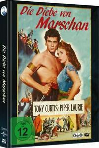 Die Diebe von Marschan [2 DVD's im Mediabook /NEU/OVP] Tony Curtis, Piper Laurie