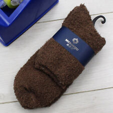 Mens Soft Winter Warm Fluffy Fleece Socks Lounge/Bed Socks Gift