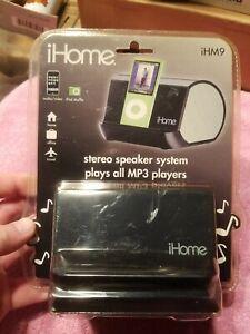 IHome Stereo Speaker System Brand New iHM9-Black New Old Stock Sealed