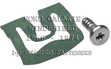 FITS FORD GALAXIE 1966 - 1974 WINDSHIELD REVEAL MLDG CLIPS 20