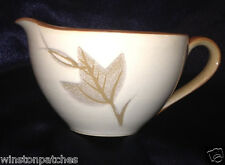 JAPAN CHINA SILVER MAPLE 109 CREAMER INCISED LEAVES 12 OUNCE CAPACITY