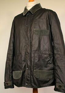 Pretty Green Waxed Cotton Field Jacket (XL/2XL - Khaki) Mod Casuals 60's