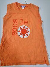 Camiseta naranja niña 6 años marca Chicco