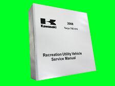 2008 KAWASAKI TERYX 750 TECHNICAL REPAIR SERVICE DEALER MANUAL BINDER BOOK