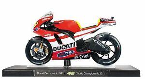 Altaya 1:18 Rossi Bike Collection Ducati Desmosedici Model Motorcycle Motorbike