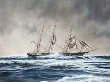 US Clipper Flying Fish, c1853, limited edition giclee print, signed