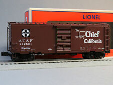 LIONEL ATSF PS-1 FREIGHT SOUNDS BOXCAR 142501 O GAUGE train SCALE 6-83527 NEW