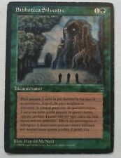 MTG Sylvan Library - Legends  - Magic the Gathering - Green Italian