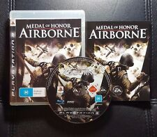 Medal of Honor Airborne (Sony PlayStation 3, 2007) PS3 - FREE POST