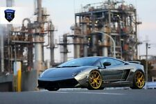 NEW Rohana RFx5 20x9 20x11 +43 5x112 GOLD WHEELS FIT Lamborghini Gallardo 2011