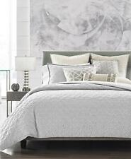 Hotel Collection Connections Cotton Full / Queen Duvet Cover Charcoal Grey $335