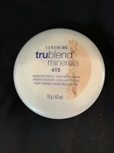 SEALED COVERGIRL TruBlend Minerals Mineral Powder, 415 Translucent Medium 0.63oz