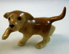 Hagen Renaker made in America miniature Golden Lab dog Pup