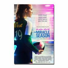 The Miracle Season 2018 Movie Print Art Silk Poster