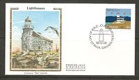 Canada SC # 1065 Lighthouses- Haut-Fond Prince FDC.Colorano Silk Cachet