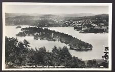 POSTCARD Windemere BELLE ISLE Bowness LAKE DISTRICT Cumbria REAL PHOTO 1458