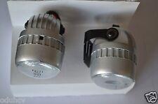 2 pcs FRONT SMALL BULLET WHITE LED LIGHTS DAYTIME DRL SPOT CAR LAMPS 12V SUV VAN