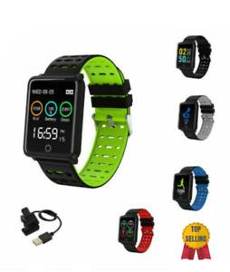 Smartwatch orologio Bluetooth GPS cardiofrequenzimetro da polso F5sport android