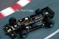 Elio de Angelis JPS Lotus Monaco GP 1983 fotografía 2