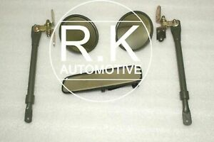 """""""BUMPER OFFER"""" New Ford Willys Jeep Complete Mirror Set"""