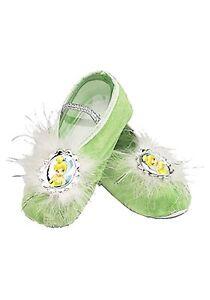 Tinkerbell Ballet Slippers - Tinker Bell Slippers