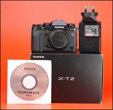 Fujifilm X-T2 Fuji Mirrorless Camera - Body Only - 4K Video Recording - Boxed