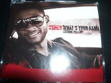 Usher Featuring Will.I.Am ‎– What's Your Name Australian CD Single – Like New