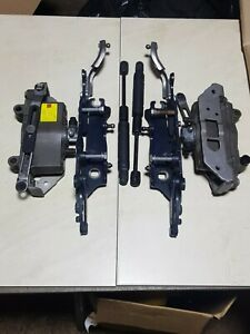 BMW 5 series F10 F11 Both side Bonnet hinge & actuator 7191050 -49 / 7201275 -76