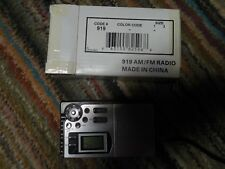 Am/Fm 2 band mulitband radio with alarm clock