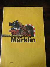 CATALOGO MARKLIN 1973 SP