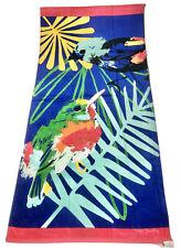 Vera Bradley  Beach Towel, MINI TODY BIRDS/BLUE, 33x66, NWT