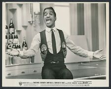 "1964 ""Robin and the Seven Hoods"", Sammy Davis Leads the Rat Pack Vintage Photo"