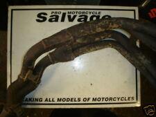 SUZUKI GSXR 750 SRAD 1996 1997 carb: d'échappement downpipes: utilisé des pièces de motos