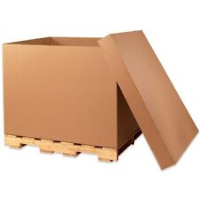 "48X40X36"" HEAVY DUTY TRIPLE-WALL GAYLORD BOXES - NEW!!  PALLET OF 42 BOXES"