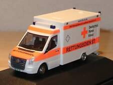 Rietze VW Crafter RTW DRK OSNABRUECK, weiss - 61585 - 1/87