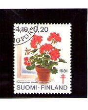 Finlandia Flores del año 1981 (AI-22)