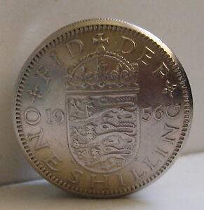 British One Shilling Screw Lid Coin Snuff Box / Pill Box / Birth Year Keepsake