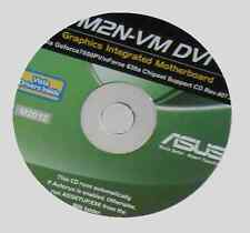 original Asus M2N-VM DVI  Mainboard Treiber CD DVD driver Windows XP Vista