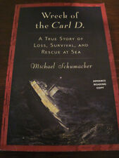 1st/1st Printing WRECK OF CARL D Schumacher ARC Uncorrected Proof SHIPWRECK