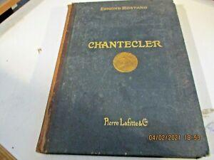 Chantecler Di E.Rostand - Libraire P.Lafitte 1915 - Illustrierte