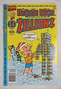 Richie Rich Zillionz #30 (1982 Harvey Comics) High Grade Newsstand NM