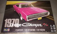 Revell 1970 Dodge Charger R/T 1:25 scale plastic model car kit new 4381