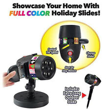 Christmas Halloween Holiday LED Laser Light Projector House Landscape Spotlight