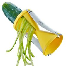 Gefu Spiralschneider Spirelli gelb Julienne Gemüseschneider Gemüse schneiden