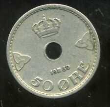 NORVEGE  50 ORE 1939