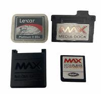 Datel Max Media Dock 1 GB Gigabyte Cartridge for Nintendo DS COMPLETE SET UP